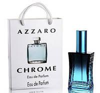 Мини парфюм мужской  Azzaro Chrome в подарочной упаковке 50 ml