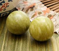 Массажные шары Баодинга нефритовые гладкие