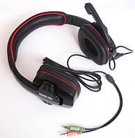 Динамические наушники Eagle Warrior 501 (микрофон +регулятор громкости), фото 1