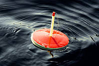 Кружки на щуку пенопластовые, большие, плоские, рыболовные