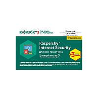 Программная продукция Kaspersky Internet Security Multi-Device 1 ПК 1 год + 3 мес Ren Card (KL1941OOABR17)