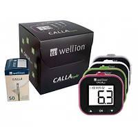 Глюкометр Wellion CALLA Light + 50 шт. тест-полосок