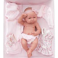 Кукла младенец NICA AJUAR 42 см с гардеробом Antonio Juan 5073