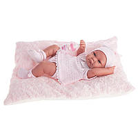 Кукла младенец NICA 42 см на матрасике с бутылочкой Antonio Juan 5054