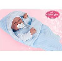Кукла младенец NINO 42 см в конверте с пустышкой Antonio Juan 5065