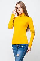 Гольф женский флис  желтый