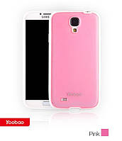 Yoobao 2 in 1 Protect case for Samsung i9500 Galaxy S IV, red (PCSAMS4-RD)