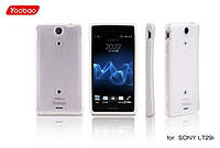 Yoobao 2 in 1 Protect case for Sony Xperia LT29i, white (PCSONYLT29I-WT)