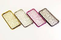 Силиконовый чехол алмазная грань для Apple iPhone 5/5S/SE