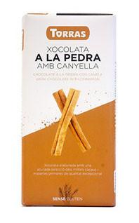 Шоколад без сахара Torras с корицей 43% какао Испания 150г