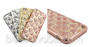 Heart TPU case for iPhone 5 mixcolor