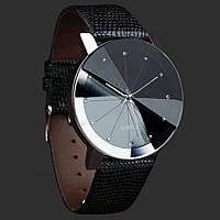Кожаные женские наручные часы из нержавеющей стали