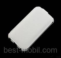 Armor flip case for HTC Desire 210, white