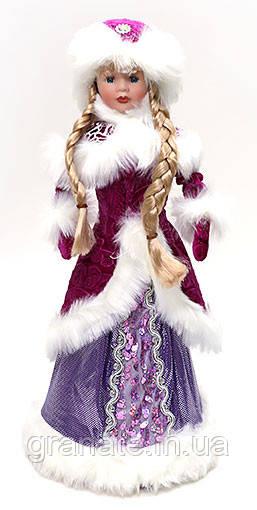 """Новогодняя подарочная упаковка для конфет """"Снегурочка"""" (500г), 45см"""