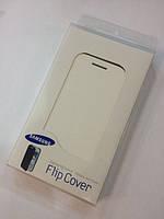 Book leather case for Samsung Galaxy S3 Mini Neo i8200/i8190, white