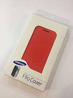 Book leather case for Samsung Galaxy S3 Mini Neo i8200/i8190, red