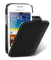 Melkco Jacka leather case for Samsung S6802 Galaxy Ace DuoS, black (SS6802LCJT1BKLC)