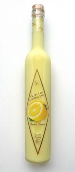 Ликер итальянский лимончино Crema di Limoncino 0,5 л.