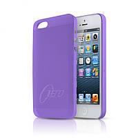 ItSkins Zero.3 cover case for iPhone 5/5S, purple (APH5 ZERO3 PRPL)