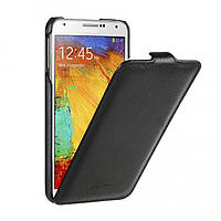 Jacka leather case for Samsung N7502 Galaxy Note 3 Duos, black Melkco (SSNO75LCJT1BKPULC)