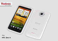 Yoobao 2 in 1 Protect case for HTC One X S720e, white (PCHTCONEX-WT)