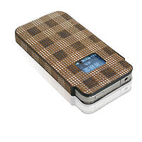Segon leather Case for iPhone4