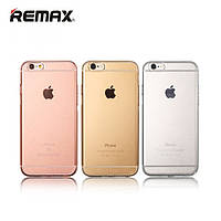 Remax Crystal TPU case for iPhone 6 Plus gold