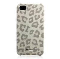 Nuoku LEO stylish leather cover for iPhone 4/4S, white