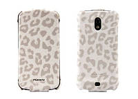 Nuoku LEO stylish leather case for Samsung i9250 Galaxy Nexus, white