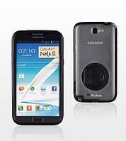 Yoobao Rotating holder case for Samsung N7100 Galaxy Note II, black (PCSAMN7100-HBK)