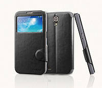 Yoobao Fashion leather case for Samsung i9200 Galaxy Mega 6,3, black (LCSAMI9200-FBK)