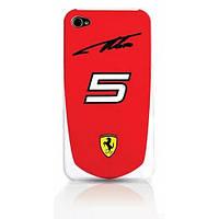 Ferrari Alonso N°5 back cover for iPhone 4 (FESA4G5R)