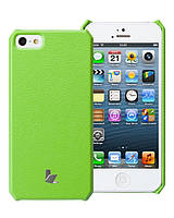 Jison Microfiber wallet cover case for iPhone 5/5S, green (JS-IP5-01H70)