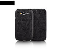 Yoobao Slim Leather case for Samsung i9082 Galaxy Grand Duos, black (LCSAMI9082-SBK)