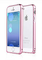 Soft edge metal aluminum alloy bumper II for iPhone 5/5s, pink (Bumperi5/5s-SPK) Yoobao
