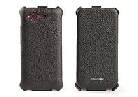 Nuoku ROYAL luxury leather case for HTC Rhyme G20, black