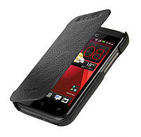 Melkco Book leather case for HTC Desire 200, black (O2DE20LCFB2BKLC)