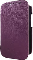 Melkco Book leather case for HTC Desire SV, purple (O2DSSVLCFB2PELC)