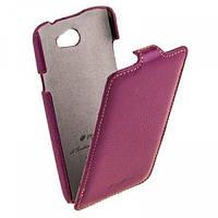 Melkco Jacka leather case for HTC One, purple (O2O2M7LCJT1PELC)