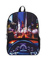 """Рюкзак """"НЬЮ ЙОРК КРУЇЗ"""" (колір мульті з LED cвітлом), MOJO , фото 1"""
