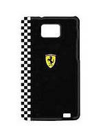 Ferrari Formula 1 back cover for Samsung i9105/i9100 Galaxy S II Plus, black (FEFOG2B)