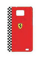 Ferrari Formula 1 back cover for Samsung i9105/i9100 Galaxy S II Plus, red (FEFOG2R)