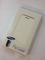 Book leather case for Samsung i9260, white