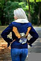 Куртка джинсовая на меху 133 (040)
