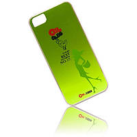 Ou.case Traveling around protective case for iPhone 5/5S, green (OI-P002)