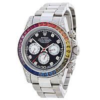 Мужские часы Rolex Daytona - Cosmograph, механические с автозаводом, нержавейка