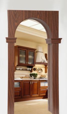 Межкомнатная арка  Арка Декор Прима-Классика 15 см, Проем 80 см,делаем любой размер