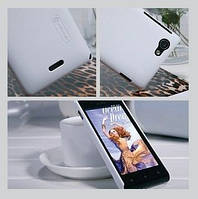 Nillkin Super Frosted Shield case for Sony ST26i Xperia J, white