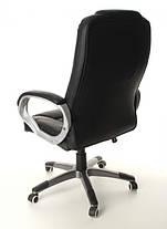 Офисное кожанное кресло NEOS черное, фото 3