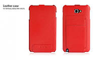 HOCO leather case for Samsung i9220 Galaxy Note, red